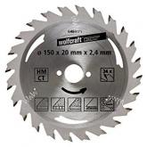 Wolfcraft 6464000 - 1 lâmina de serra circular