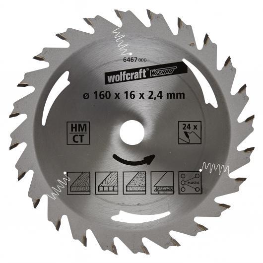 Wolfcraft 6467000 - 1 lame de scie circulaire