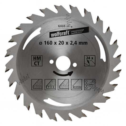 Wolfcraft 6468000 - 1 lama per seghe circolari