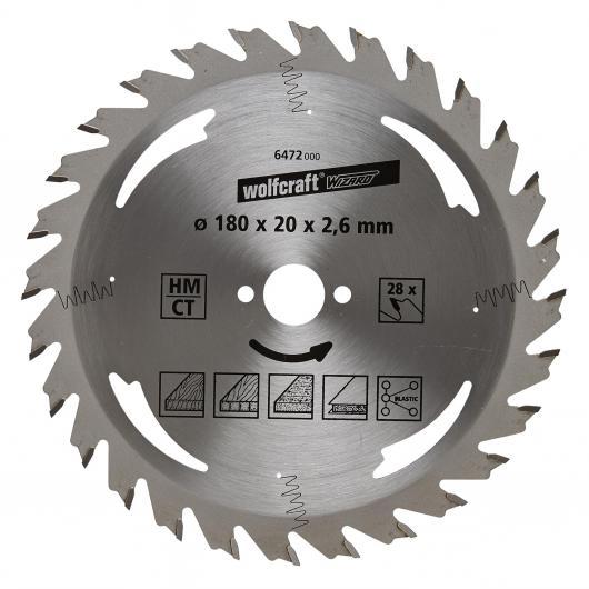 Wolfcraft 6472000 - 1 lame de scie circulaire