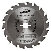 Wolfcraft 6355000 - 1 lama per seghe circolari
