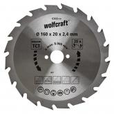Wolfcraft 6368000 - 1 lama per seghe circolari