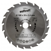 Wolfcraft 6368000 - 1 lame de scie circulaire
