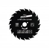Wolfcraft 6369000 - 1 lama per seghe circolari