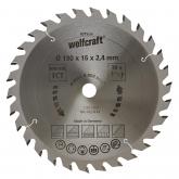Wolfcraft 6375000 - 1 lama per seghe circolari