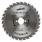 Wolfcraft 6377000 - 1 lame de scie circulaire