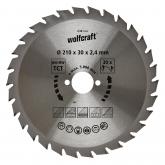Wolfcraft 6381000 - 1 lama per seghe circolari