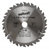 Wolfcraft 6730000 - 1 lâmina de serra circular