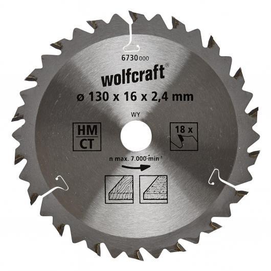 Wolfcraft 6730000 - 1 lama per seghe circolari