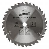 Wolfcraft 6731000 - 1 lama per seghe circolari