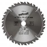 Wolfcraft 6738000 - 1 lama per seghe circolari