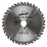 Wolfcraft 6732000 - 1 lama per seghe circolari