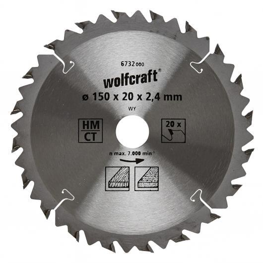 Wolfcraft 6732000 - 1 lame de scie circulaire