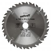 Wolfcraft 6733000 - 1 lama per seghe circolari