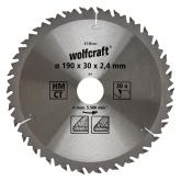 Wolfcraft 6736000 - 1 lama per seghe circolari