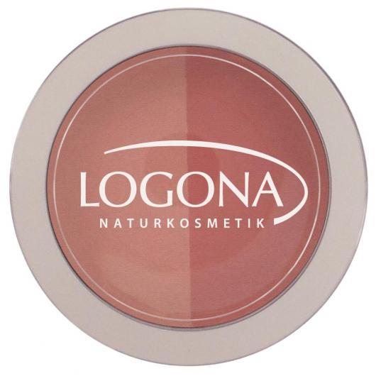 Doppio blush Beige + Terracotta Logona, 10g