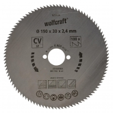 Wolfcraft 6277000 - 1 lame de scie circulaire
