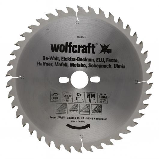 Wolfcraft 6680000 - 1 lama per seghe circolari