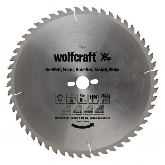 Wolfcraft 6686000 - 1 lama per seghe circolari