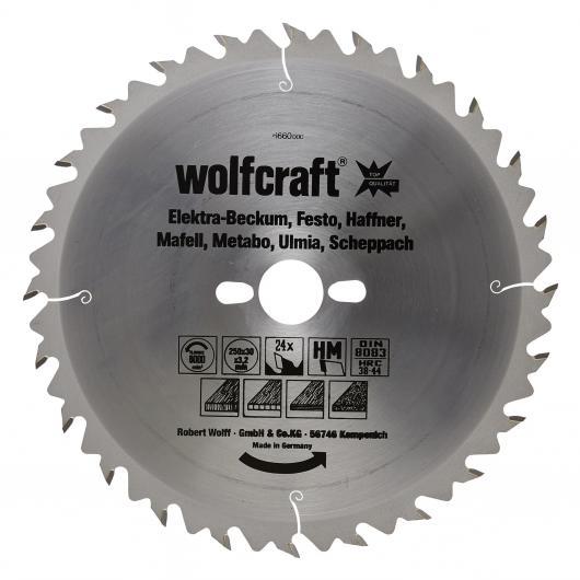 Wolfcraft 6660000 - 1 lama per seghe circolari