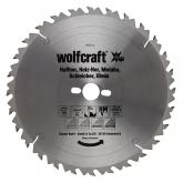Wolfcraft 6662000 - 1 hoja de sierra circular HM, 28 dient., serie verde Ø 300 x 30 x 3,2 mm