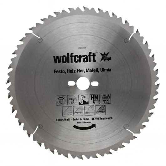 Wolfcraft 6666000 - 1 lama per seghe circolari