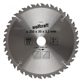 Wolfcraft 6740000 - 1 lama per seghe circolari