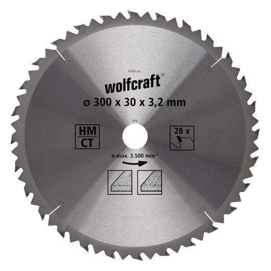 Wolfcraft 6741000 - 1 lama per seghe circolari