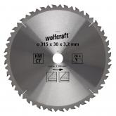 Wolfcraft 6742000 - 1 lama per seghe circolari