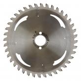 Wolfcraft 6522000 - 1 hoja de sierra circular HM, 40 dient., serie plata Ø 209 x 30 x 2,2 mm