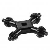 Wolfcraft 2635000 - 1 chiavi per mandrini universali