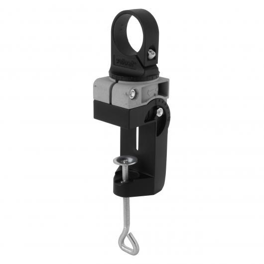 Wolfcraft 4800000 - 1 soporte combinado metálico para taladradoras Ø 43 mm