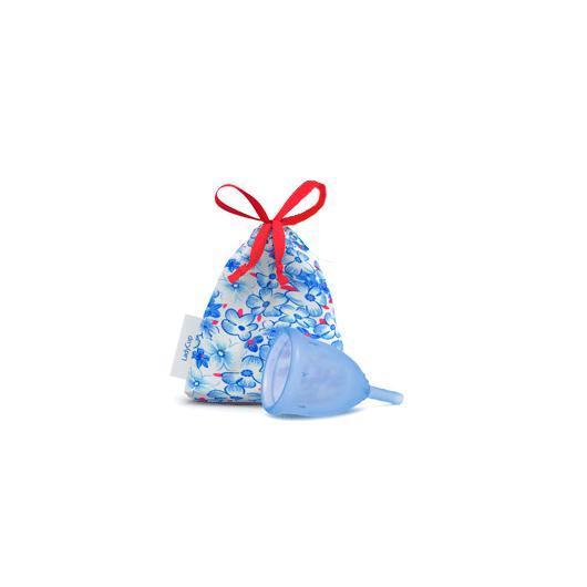 Lady Cup coupe menstruelle bleue