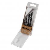 Wolfcraft 8458000 - 5 brocas helicoidais para madeira