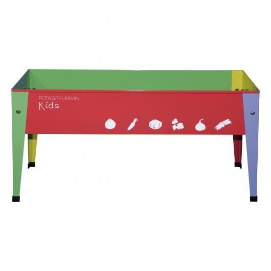 Table pour potager urbain pour enfants