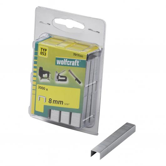 Wolfcraft 7017000 - 3000 agrafes larges