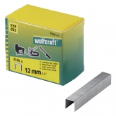 Wolfcraft 7042100 - 2500 grapas de lomo ancho, tipo 053 12 mm