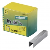 Wolfcraft 7047100 - 2500 grapas de lomo ancho, tipo 053 14 mm