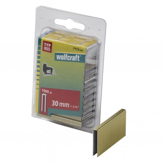 Wolfcraft 7173000 - 1000 agrafes étroites