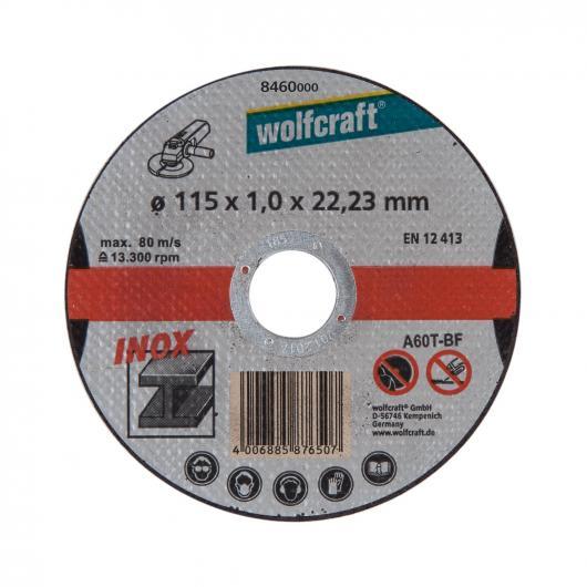 Wolfcraft 8460000 - 3 dischi da taglio