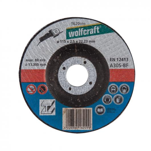 Wolfcraft 1627300 - 5 discos de cortar para metal Ø 230 x 2,5 x 22,23 mm