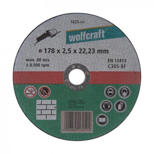 Wolfcraft 1625099 - 1 disque à tronçonner