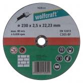 Wolfcraft 1628099 - 1 disco de cortar para piedra, granel Ø 230 x 2,5 x 22,23 mm