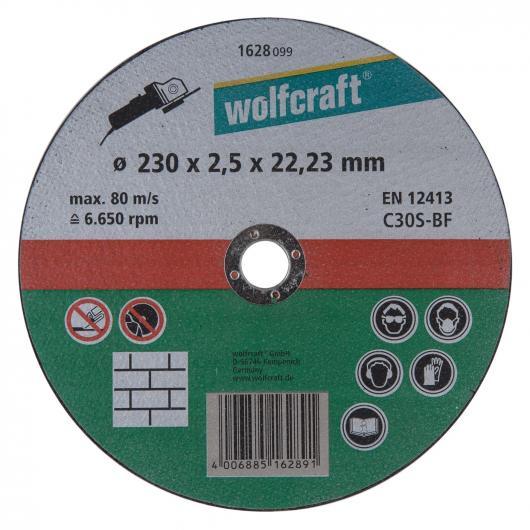 Wolfcraft 1628099 - 1 disque à tronçonner