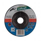 1 disco de desbaste para amoladora 6mm Wolfcraft