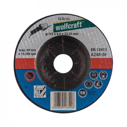 Wolfcraft 1630099 - 1 disque à ébarber