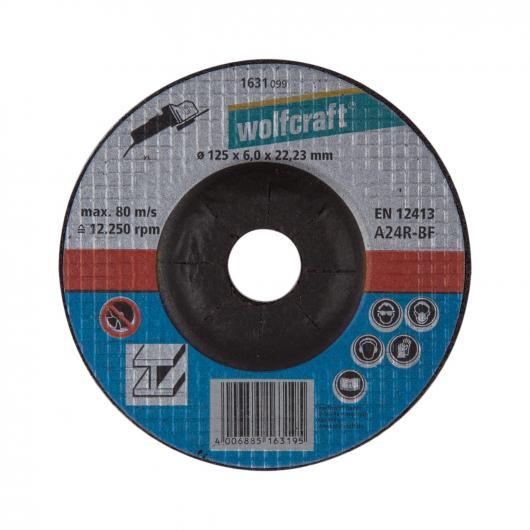 Wolfcraft 1631099 - 1 disque à ébarber