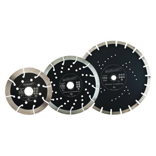 Wolfcraft 8372000 - 1 disque diamant à tronçonner