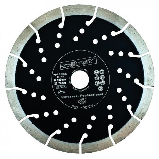 Wolfcraft 8374000 - 1 disque diamant à tronçonner