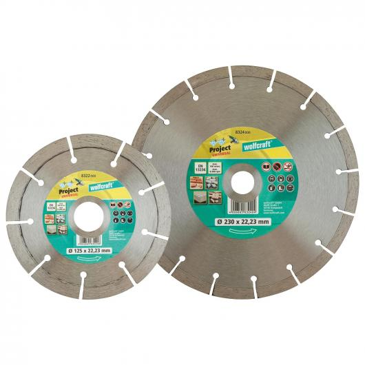 Wolfcraft 8323000 - 1 disco de corte diamantado